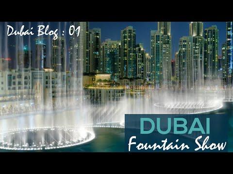 Amazing Dubai Fountain Water Show 2021 | Dubai Burj Khalifa Fountain Show 2021 | Dancing Fountain