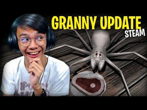 BAGONG SPIDER?!   Granny Update 1.1 (Steam) - #Ending