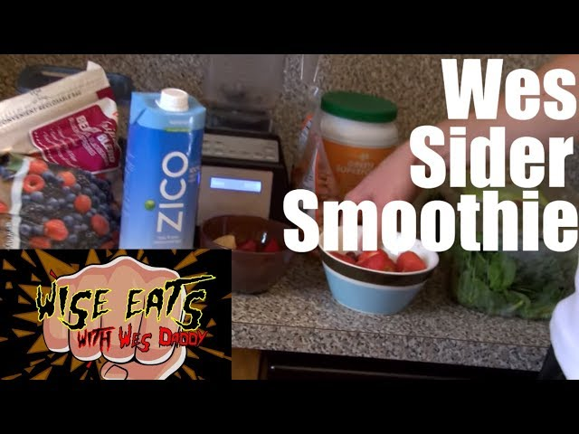 Wise Eats - Wes Sider Superfood Smoothie for Protein, Energy, Weight Loss, Building Muscle + Detox