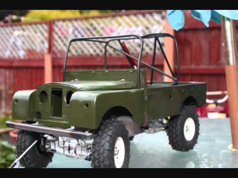 scale series 1 land rover build in pictures youtube
