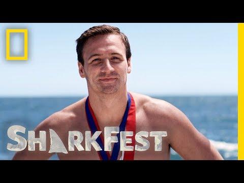 Ryan Lochte Has the 2nd Best Sharks | SharkFest