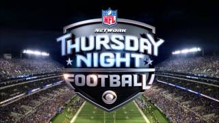 New NFL Thursday Night Football theme on CBS (2014)