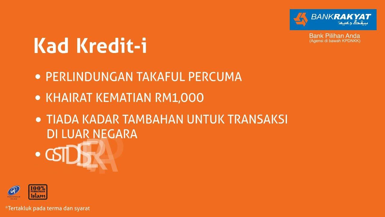 Bank Rakyat Kad Kredit I Dan Kad Debit I Bank Rakyat Youtube