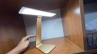 Đèn led để bàn đèn học bảo vệ mắt chống cận, siêu mỏng có chức năng sạc pin