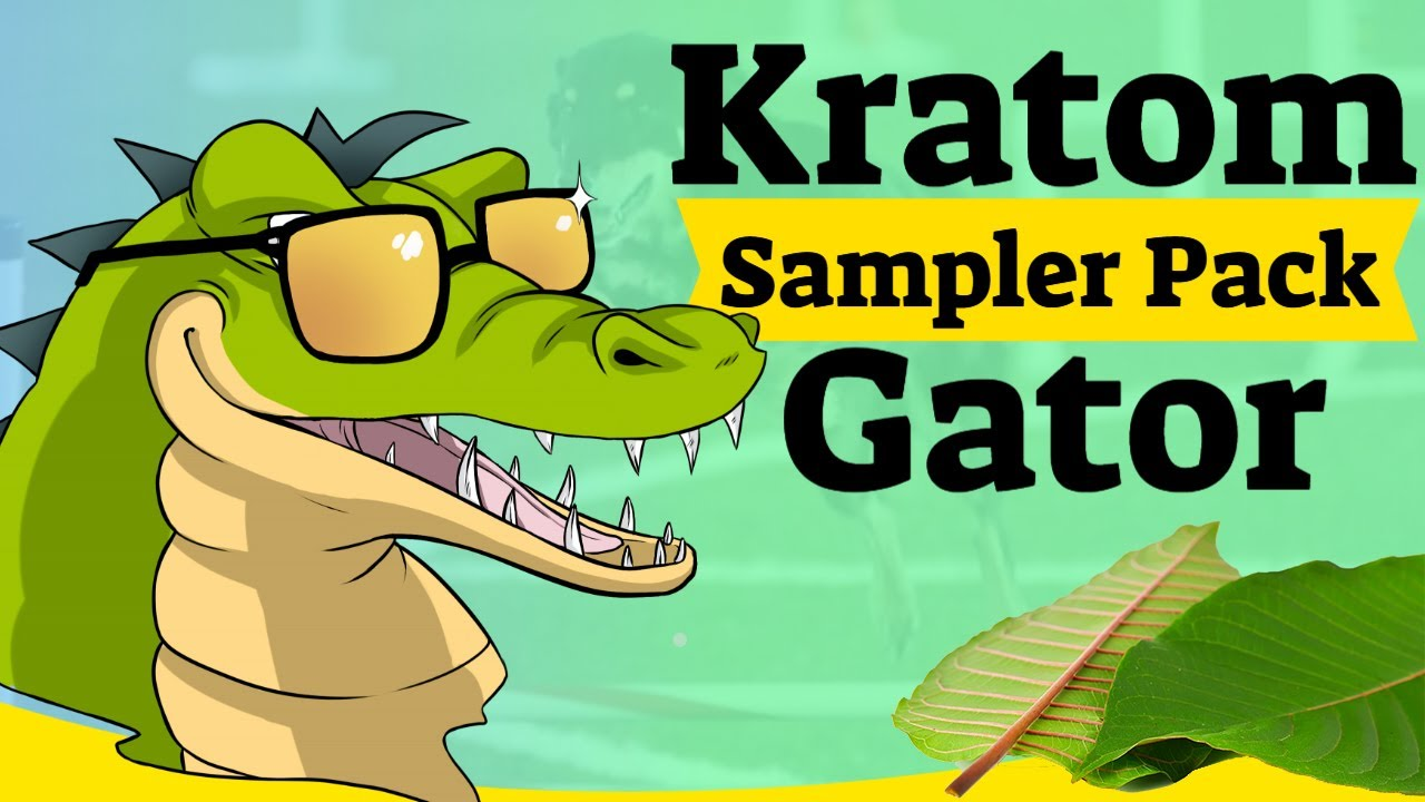 Strains Of Kratom   Kratom Gator Strain Sample Pack