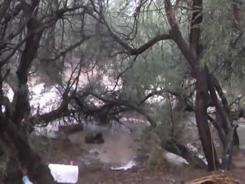 Wash Running Monsoon Saint David Arizona