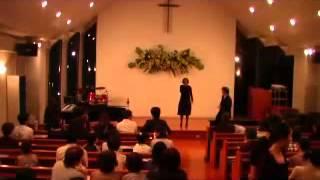 2009/ 9 三滝グリーンチャペルでのコンサート。 キャロル・ギャズデンさ...