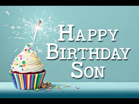Happy Birthday Son E Card Category Birthday Youtube