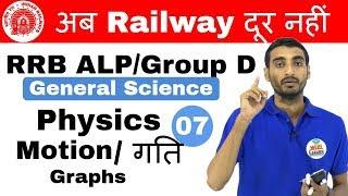 9:00 AM RRB ALP/Group D I General Science by Vivek Sir | Motion/ गति अब Railway दूर नहीं I Day#07