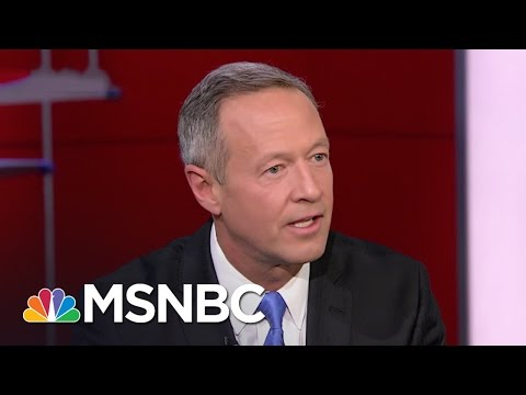 Martin O'Malley Not Endorsing In Democratic Race | Rachel Maddow | MSNBC