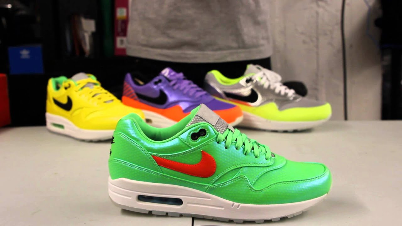 b6b903a70aad26 Nike Air Max 1 FB Premium QS Mercurial Pack Green Unboxing Video at  Exclucity