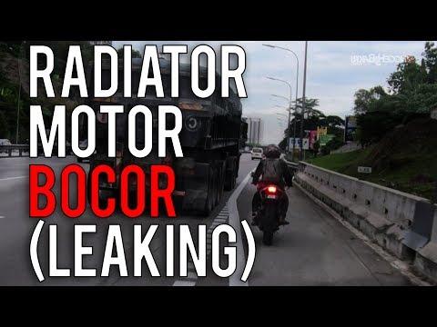#14: Radiator MT-09 bocor (leaking) || Motovlog Malaysia