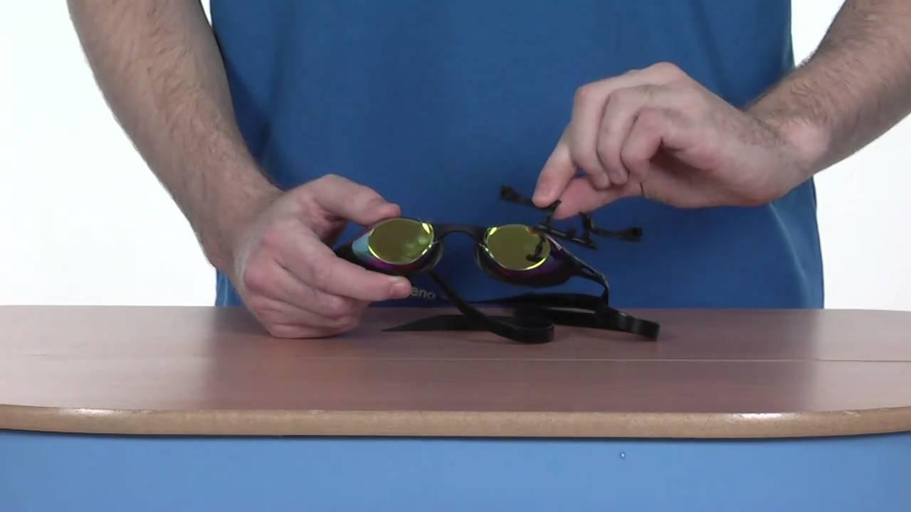 da7a005ba Arena Cobra Mirror Goggle - www.simplyswim.com - YouTube