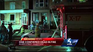 Woman dies in Shadyside fire