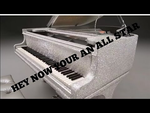 all star played on a walmart piano