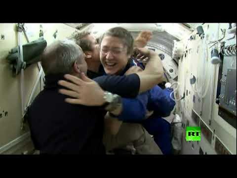 شاهد: لحظة التحام سويوز بمحطة الفضاء الدولية  - 11:54-2019 / 3 / 15
