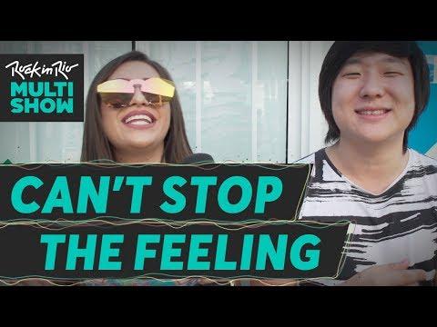 Can't Stop The feeling   Dani Russo + Pyong + Rodrigo Teaser  + Malena   Rock In Rio 2017
