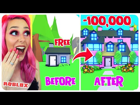 I Paid A PROFESSIONAL BUILDER $100 To Build Me My Dream House In Adopt Me