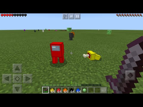 Among Us MOD In Minecraft PE