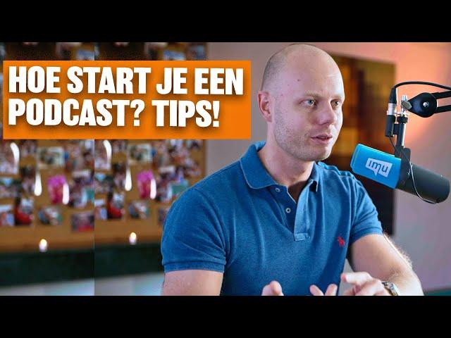 Hoe start je een podcast? Tips & Tricks!