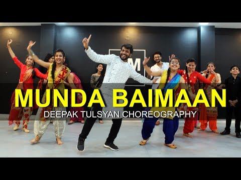 Munda Baimaan | Bhangra Dance Choreography | Deepak Tulsyan | G M Dance | Madhur Dhir