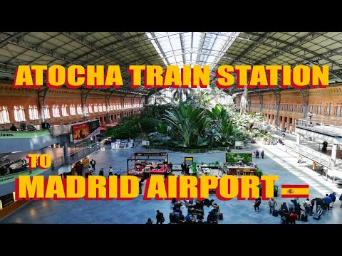 Madrid Atocha Station To Madrid Airport: Bus And Train Options Explained