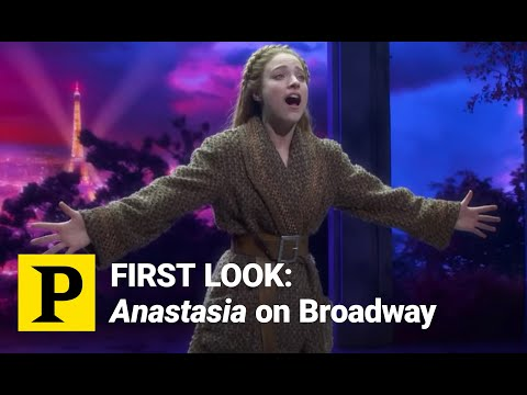 FIRST LOOK: Anastasia on Broadway