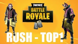 RUSH MISSION PASSE OF COMBAT SAISON 6 WEEK 4 GO LEVEL 100 FORTNITE BATTLE ROYALE FR PS4/PC