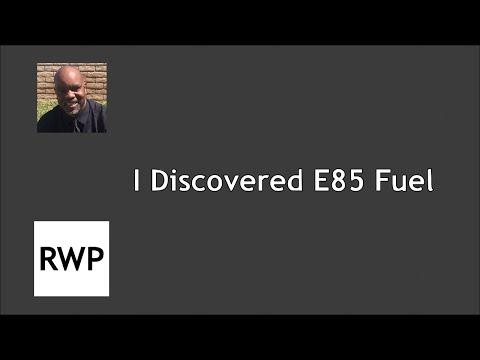 I Discovered E85 Fuel (and 100 Octane Racing Fuel)