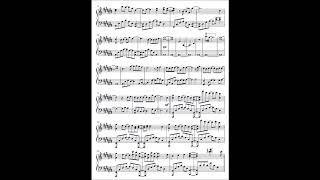 【ピアノ譜】やなぎなぎ「未明の君と薄明の魔法」(アニメ「色づく世界の明日から」ED)