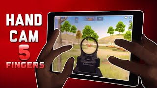 AM I A CHEATER? HAND CAM + PLAYS FEATUREDS (iPad5) - 荒野行動-KNIVES OUT