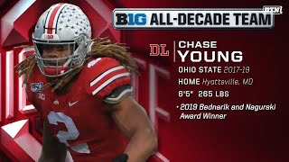 #BTNAllDecade Voters on Why Chase Young Is An All-Decade Team Pick | Big Ten Football