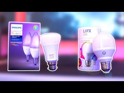 Philips Hue VS LIFX Review - What Are The BEST Smart Lights?