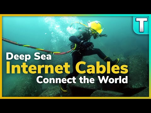 Deep Sea Internet Cables Connect The World