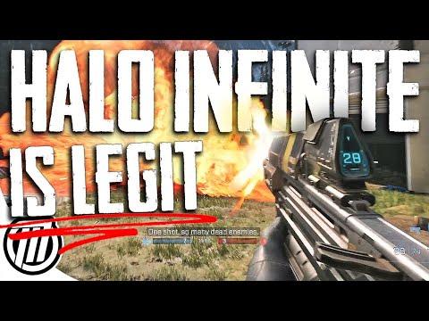 Halo Infinite Feels Amazing - Flight Gameplay (Xbox Series X)