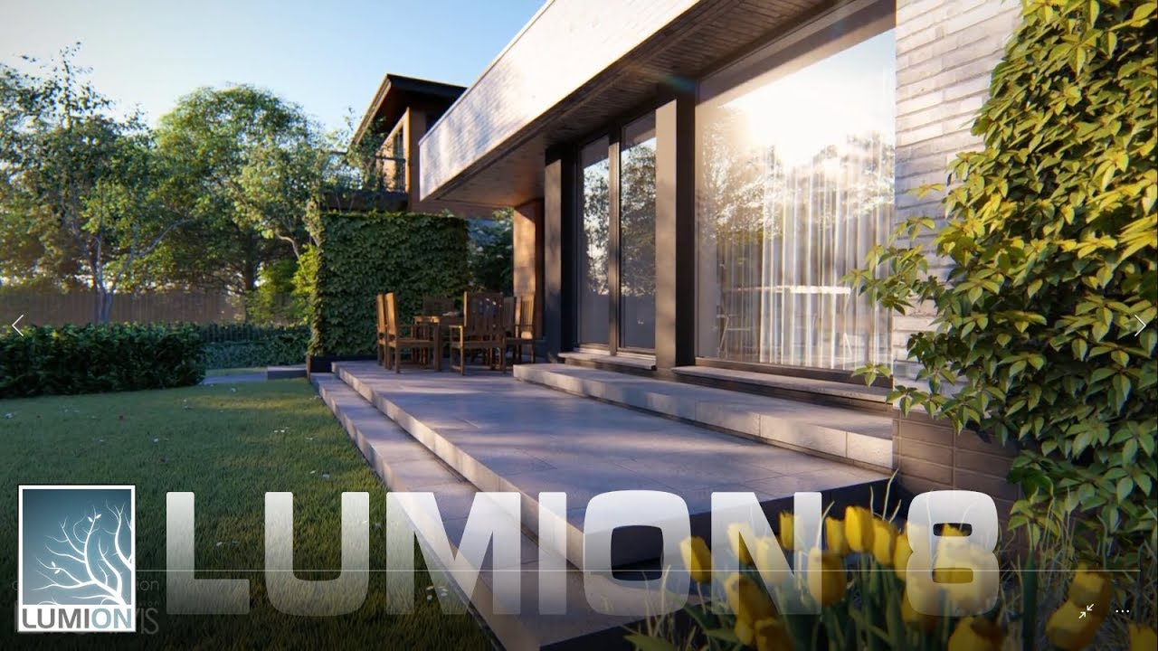 House made with lumion 8 pro youtube for Style house pro