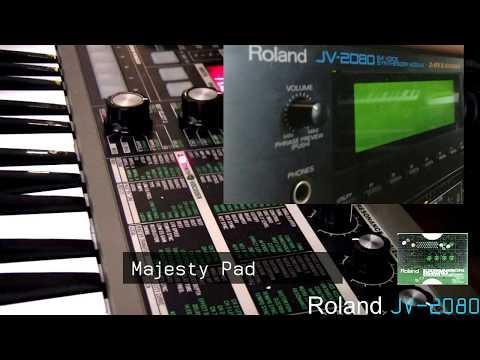 RolandJV-2080 +  SR-JV80-04 Vintage Expansion card - Presets