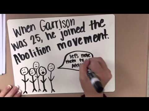 William Lloyd Garrison Apush time lapse
