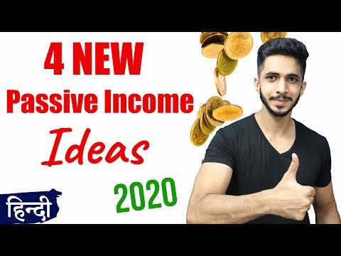 4 New Online Passive Income Ideas for 2020 (Hindi)