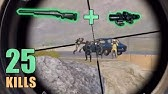 M24 vs 4 SNIPERS25 KILLSSOLO SQUADPUBG MOBILE