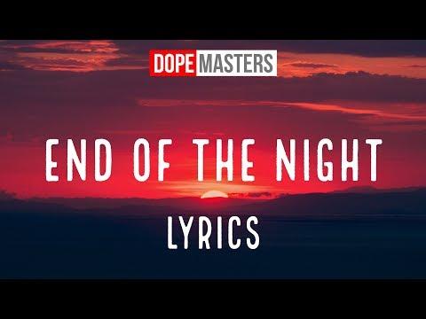 Danny Avila - End of the Night [Lyrics]