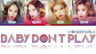 Wonder Girls (원더걸스) - 'Baby Don't Play' Sub Español (Color C…
