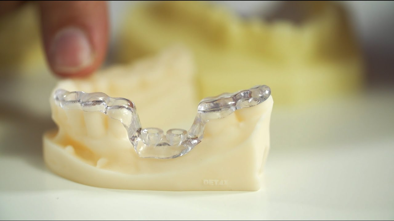 3D Printing in the Dental Lab: base parts for orthodontic apparatuses with Freeprint® ortho