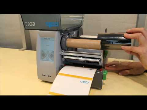 cab EOS1 - the label printer with touchscreen