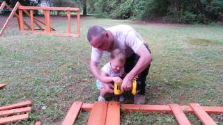Building The Swing Set