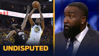 Kendrick Perkins: Rockets blew Game 1 by missing chances — can't blame referees | NBA | UNDISPUTED