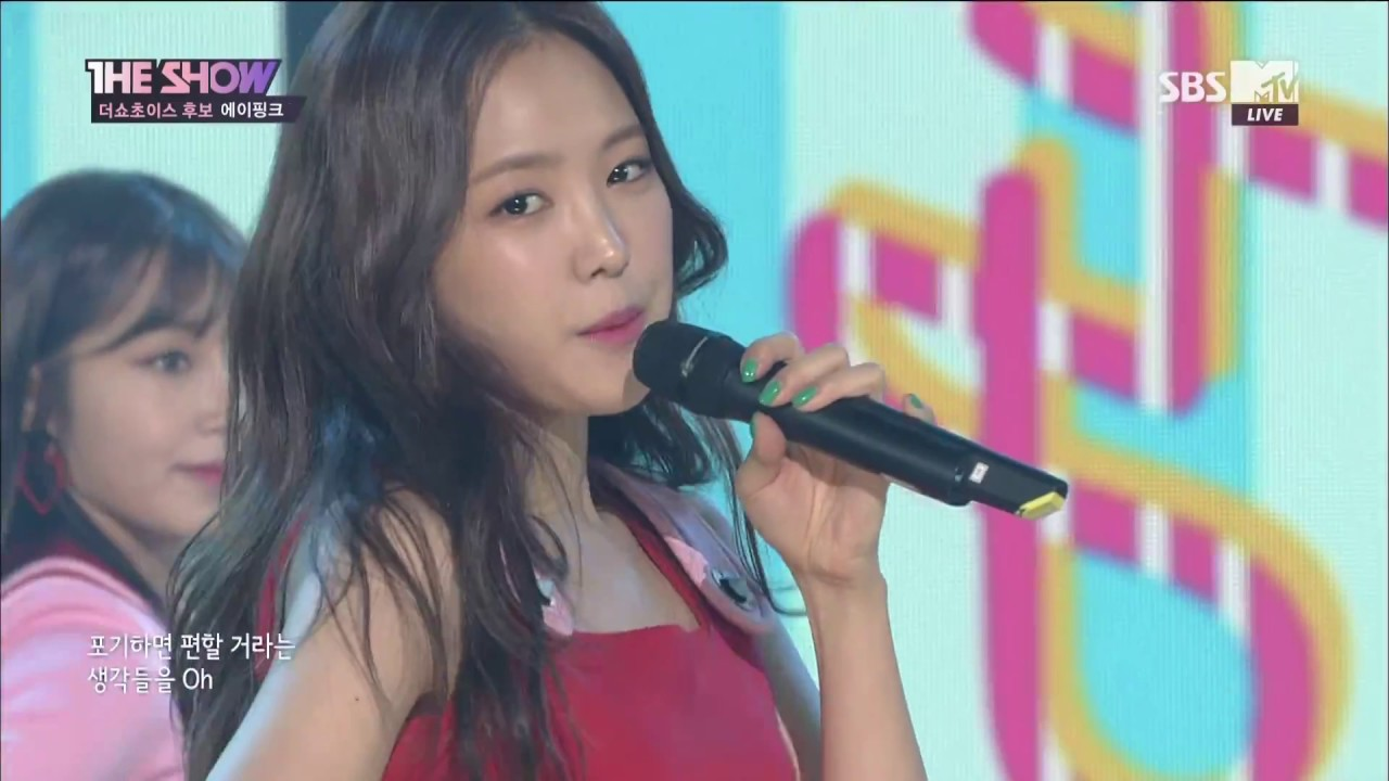 [170704] APINK - INTERVIEW + FIVE + No.1 WIN & Encore Stage @ The Show [1080P]