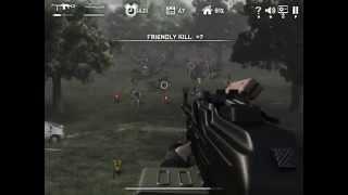 Dead Zed 2. Machinegun and grenade-gun