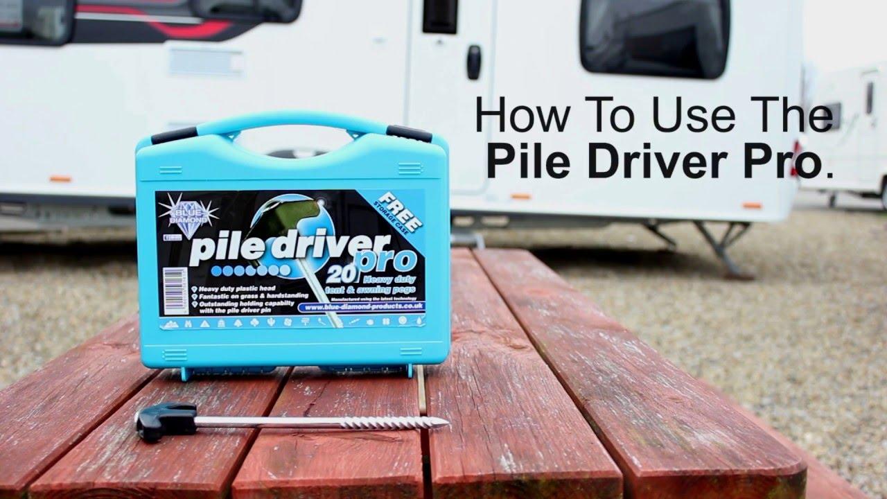 Pile Driver Peg Pro & Pile Driver Peg Pro - YouTube