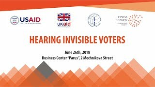 "National forum ""Hearing invisible voters"" 26.06.18"